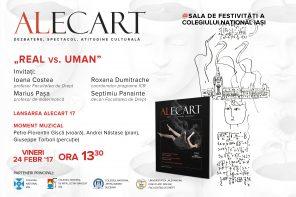"""Dezbatere """"Real vs. Uman"""" la Colegiul Național Iași"""