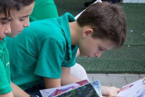 Elevii EuroEd vorbesc despre cărțile preferate citite în clasa a V-a