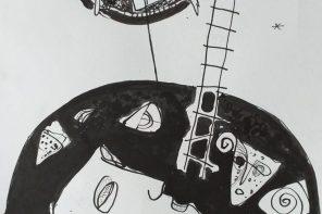 PSALMII lui Radu Vancu &  grafica lui Ioniță BENEA (ora online de literatură)