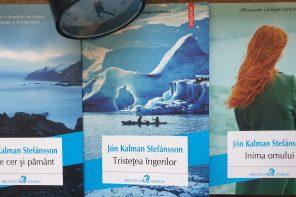 Nicoleta Munteanu, Jurnal de lectură (III): Jón Kalman Stefánson, Trilogia fiordurilor