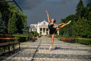 Dans în fotografie. Întâlnire cu Sofia Vrănescu, balerină (în devenire)